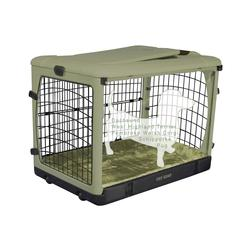 "Pet Gear The Other Door 27"" Steel Crate with Plush Pad"