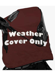 Pet Gear Jogger Burgundy Weather Cover