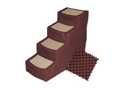 Pet Gear Designer Steps IV Burgundy Pet Steps