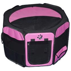 Pet Gear Small Pink Octagon Pet Pen with Removable Top