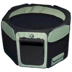 Pet Gear Small Sage Octagon Pet Pen with Removable Top