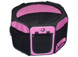 Pet Gear Large Pink Octagon Pet Pen with Removable Top