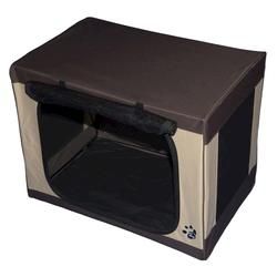 Pet Gear Small Brown Travel-Lite Soft Crate