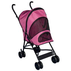 Pet Gear Travel Lite Pink Pet Stroller