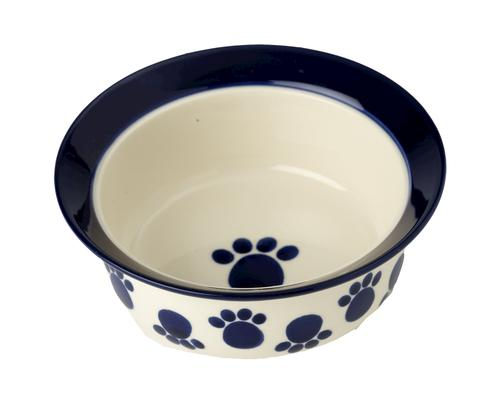 Petrageous 174 9 Quot Paws N Around Stoneware Dog Bowl At Menards 174