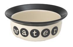 "Petrageous® 6"" Stoneware Dog Water Bowl"