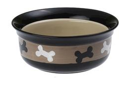"Petrageous® 6"" City Pets Stoneware Dog Bowl"