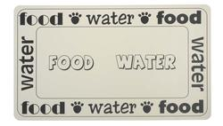 "Petrageous® 19"" x 11.75"" Food and Water Placemat"