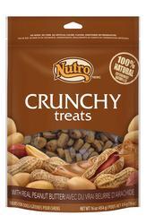 Nutro™ Crunchy Peanut Butter Dog Treats - 10 oz