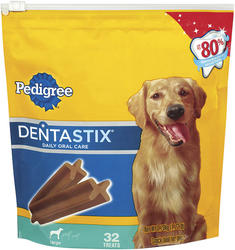 Pedigree Dentastix Large Daily Oral Care Dog Treats - 32-ct