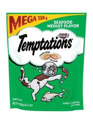 Temptations Seafood Medley Flavor Cat Treats - 6.3 oz