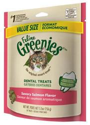Greenies® Savory Salmon Dental Cat Treats - 5.5 oz