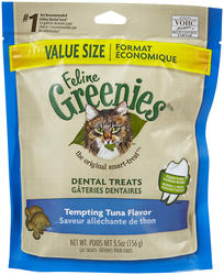 Greenies® Tempting Tuna Dental Cat Treats - 5.5 oz