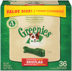Greenies® Regular Dental Dog Chews - 36-ct