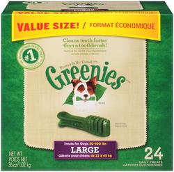Greenies® Large Dental Dog Chews - 24-ct