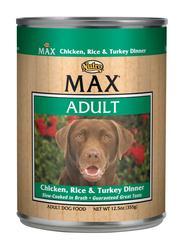 Nutro MAX Chicken, Rice & Turkey Adult Dog Food - 12.5 oz