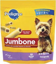 Pedigree Jumbone Mini Dog Treats - 6 oz