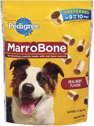 Pedigree MarroBone Crunchy Beef Dog Treats - 24 oz