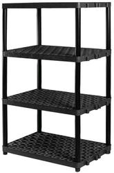 "Plano® 4-Shelf Ventilated Resin Storage Unit-36""W X 62""H X 24""D"