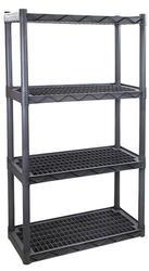 "Plano® 4-Shelf HD Ventilated Storage Unit-33-3/4""W x 56-1/4""H x 14""D"