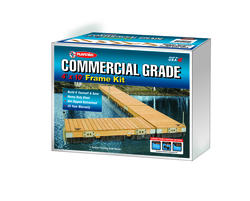 PlayStar Commercial Grade 4' x 10' Dock Frame Kit