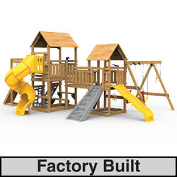 PlayStar Super Star Gold Factory Built Playset
