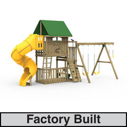 PlayStar Great Escape Silver Factory Built Playset