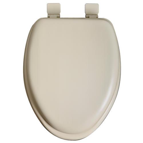 Tuscany Premium Soft Elongated Toilet Seat With Wood Core
