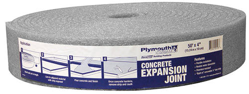 Plymouth foam quot expansion joint at menards
