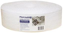 """Plymouth Foam 3-1/2"""" x 50' Standard Foam Sill Sealer"""