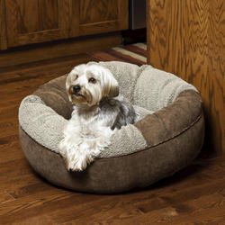 Small Round Donut Pet Bed