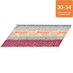 "Pneu-Fast® 3"" x .120 Ring Shank Hi-Galvanized Framing Nails"