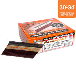 "Pneu-Fast® 3-1/2"" x .131- Smooth Brite Framing Nails"