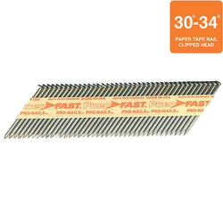 "Pneu-Fast® 2-3/8"" x .113- Ring Brite Framing Nails"