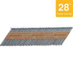 "Pneu-Fast® 2-3/8"" x .120- Ring Electro-Galvanized Framing Nails"