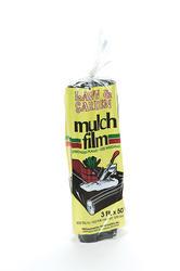 Polar Plastics 3' x 50' x 1.5 Mil Black Mulch Film