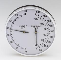"""5"""" round thermometer-hygrometer"""