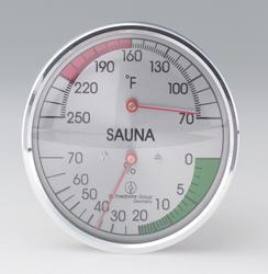 """4"""" round thermometer-hygrometer"""