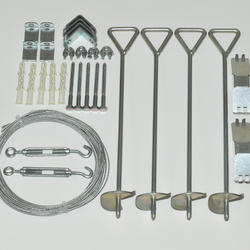 Anchor Kit for Palram Snap & Grow Greenhouses