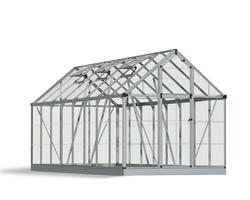 Snap & Grow 6' x 16' Hobby Greenhouse - Silver