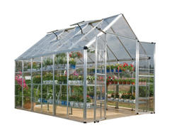 Snap & Grow 8' x 12' Hobby Greenhouse - Silver