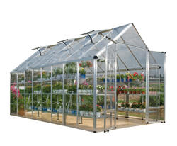 Snap & Grow 8' x 16' Hobby Greenhouse - Silver