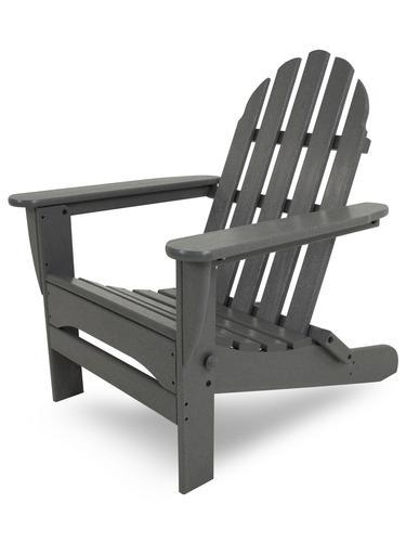 POLYWOOD Classic Folding Adirondack Chair Traditional Colors at Menards