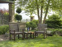 POLYWOOD Vineyard 3-Piece Garden Chair Set