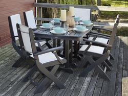 POLYWOOD Coastal 7-Piece Dining Set