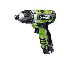 Rockwell® LithiumTech™ 3RILL™ 12-Volt 3-in-1 Impact Driver