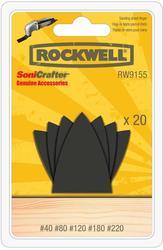 Rockwell® Sanding Finger Sheet Assortment