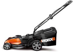"""Worx® 15"""" 24-Volt 3-in-1 Lawn Mower"""