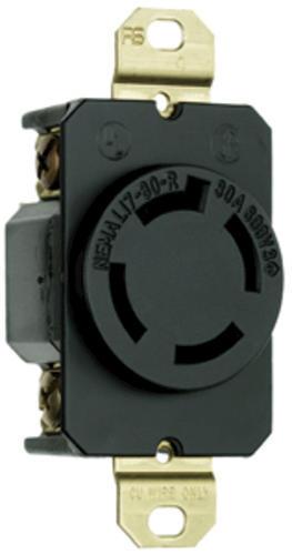 Legrand Turnlok® Black 30-Amp 3-Phase 600-Volt Locking ...