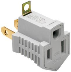 Legrand Gray Plug Adapter Rubber